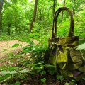 green-seductress-handmade-handbag-in-the-forest